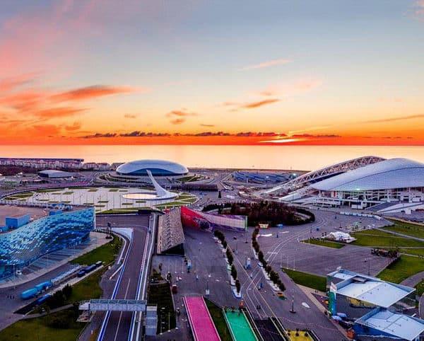 олимпийский парк Сочи поющие фонтаны