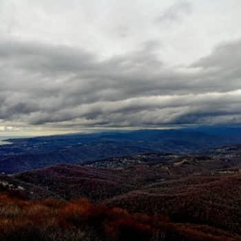 Вид гора Ахун