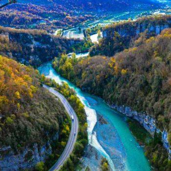 Скай парк Сочи фото с высоты