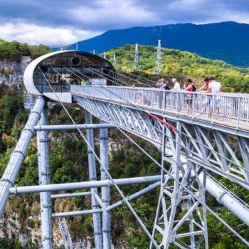 Скай парк Сочи мост