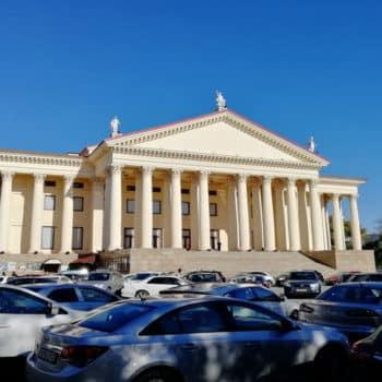 Фото зимний театр Сочи