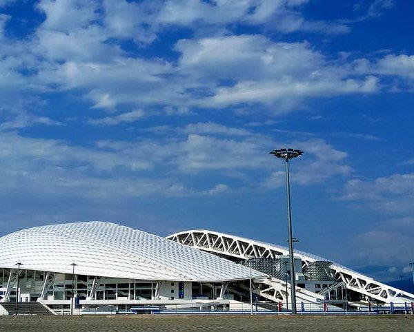 Достопримечательности Адлера стадион Фишт