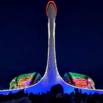 Шоу фонтанов в Олимпийском парке 2019
